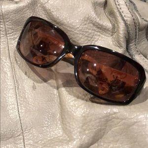 Coach NWOT tortoise Sunglasses